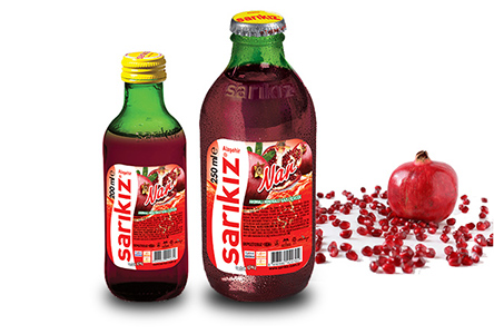 Pomegranate Flavored Mineral Water