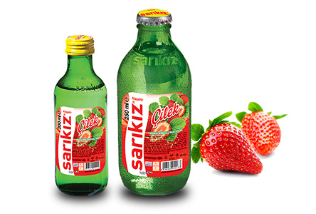 Strawberry Flavored Mineral Water